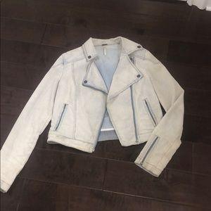 Free People faded blazer